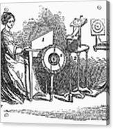 Spiritualism, 1855 Acrylic Print