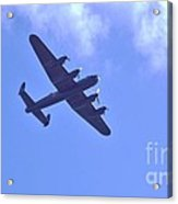 Spitfire  Lancaster Bomber Acrylic Print