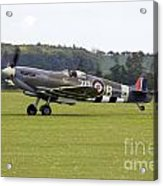 Spitfire Mk Ixb Acrylic Print