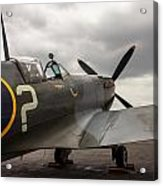 Spitfire On Display Acrylic Print