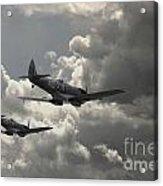 Spitfire Wingman Acrylic Print