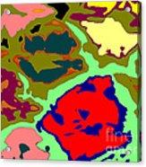 Splatter  Acrylic Print by Joseph Baril