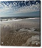 Splattered Clouds Acrylic Print by Adam Jewell