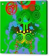 Splattered Series 11 Acrylic Print