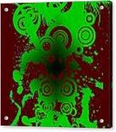 Splattered Series 12 Acrylic Print