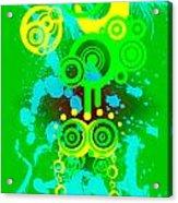 Splattered Series 3 Acrylic Print