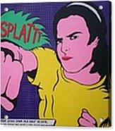 Splattt Acrylic Print
