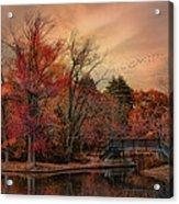 Splendor In The Park Acrylic Print
