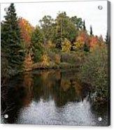 Splendor On A River Acrylic Print
