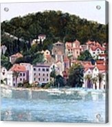 Split Harbour Croatia Acrylic Print