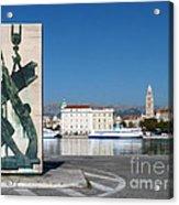 Split Harbour Acrylic Print
