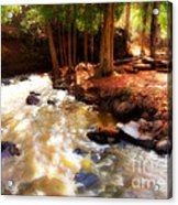 Split Rock River Acrylic Print