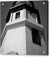 Splitrock Lighthouse 3 Bw Acrylic Print