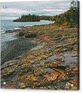 Splitrock Shoreline Acrylic Print