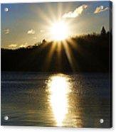 Splitrock Sunrise Acrylic Print