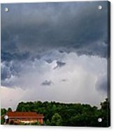 Spoiling For A Storm Acrylic Print