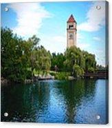 Spokane Riverfront Park Acrylic Print