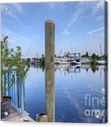 Sponge Boat Docks 2  Acrylic Print