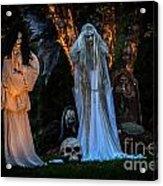 Fantom Women Vinette Acrylic Print