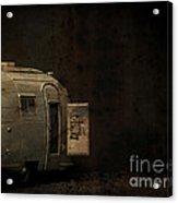 Spooky Airstream Campsite Acrylic Print
