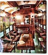 Spooky Old Train  Acrylic Print