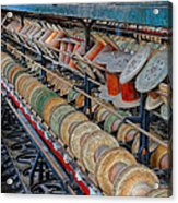Spools At Lonaconing Silk Mill Acrylic Print