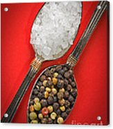 Spoonfuls Of Salt And Pepper Acrylic Print