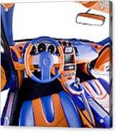 Sports Car Interior Acrylic Print