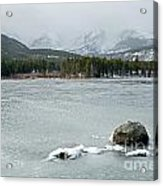 Sprague Lake In Rocky Mountain National Park Acrylic Print