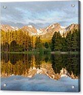 Sprague Lake Reflections Acrylic Print
