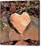 Spread Love Acrylic Print
