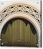 Spreckels Organ Balboa Park San Diego Acrylic Print