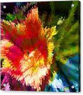 Spring Abstraction I Acrylic Print