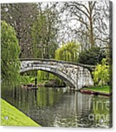 Spring And The River Cam Acrylic Print
