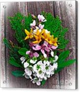 Spring Arrangement Acrylic Print