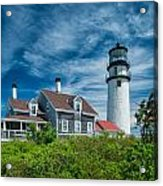 Spring At Cape Cod Light Acrylic Print