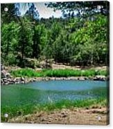 Spring At Goldwater Lake Acrylic Print