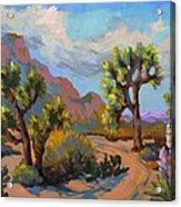 Spring At Joshua Acrylic Print