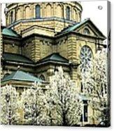 Spring At The Basilica Acrylic Print