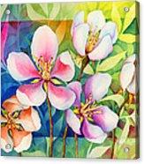Spring Ballerinas Acrylic Print