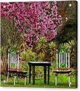 Spring Begins In Wonderland Acrylic Print