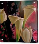 Spring Bouquet II Acrylic Print