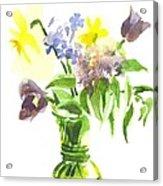 Spring Bouquet IIi Acrylic Print