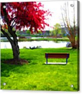 Spring Can't Come Fast Enough Acrylic Print