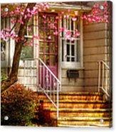 Spring - Door - Dogwood  Acrylic Print