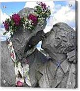 Spring Equinox Kiss Acrylic Print