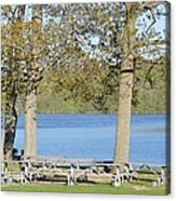 Spring Fed Shepherd Lake Acrylic Print