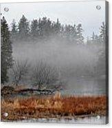 Spring Fog Acrylic Print
