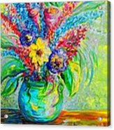 Spring In A Vase Acrylic Print