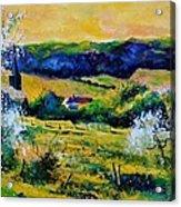 Spring In Matagne  Acrylic Print